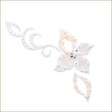 nu scena JEWELRY Dainty ディンティ パールホワイト 『かわいらしく咲いた一輪の花。』