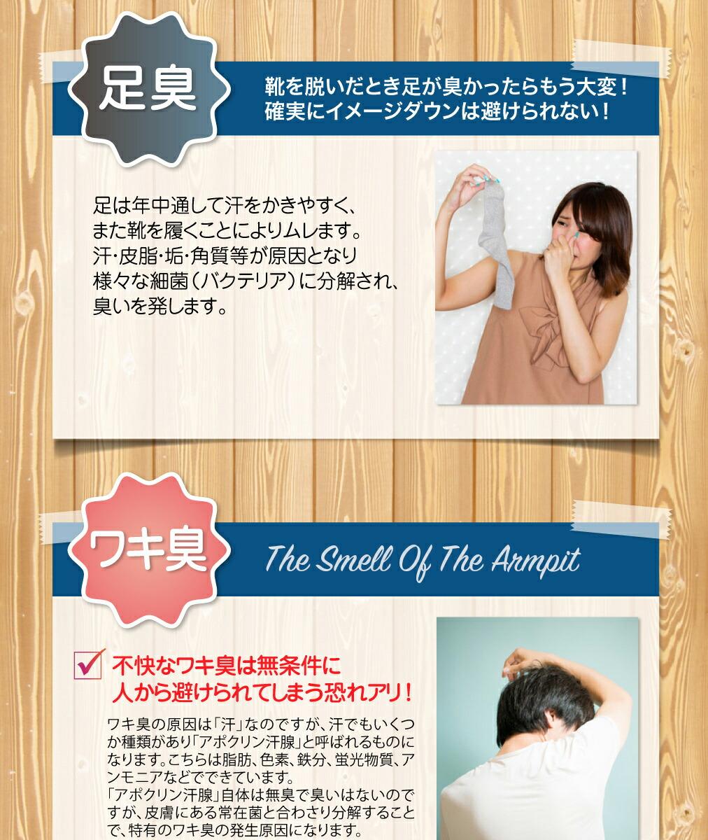 体臭予防サプリ