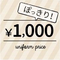 1000円ぽっきりアイテム