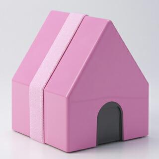 あす楽 三角屋根がかわいい家型ランチボックス お弁当箱