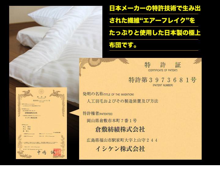 日本メーカーの特許技術で生み出された繊維