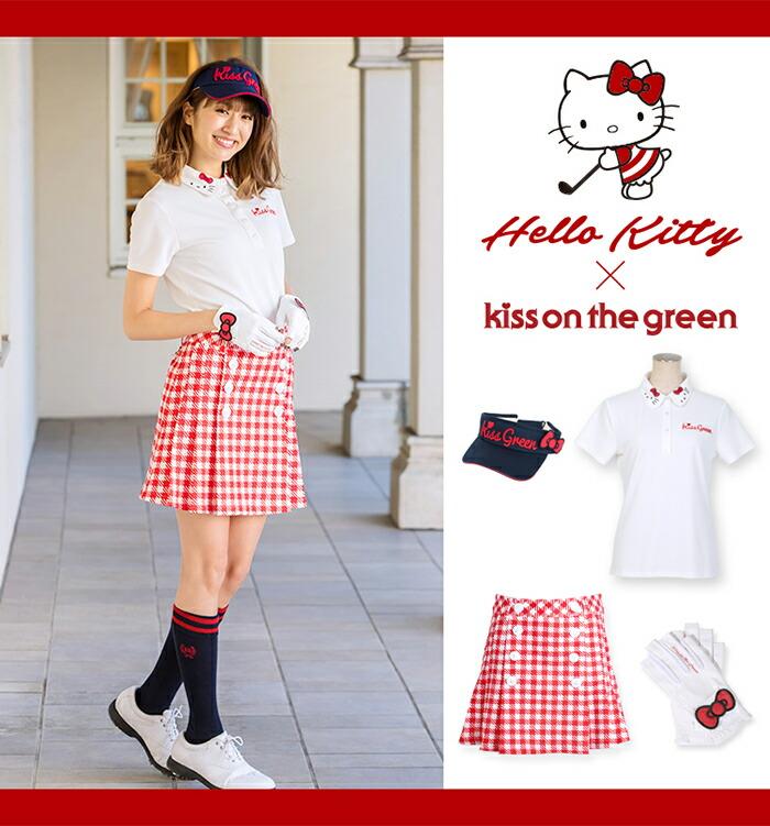 キティちゃん×キスオンザグリーンコラボゴルフウェア