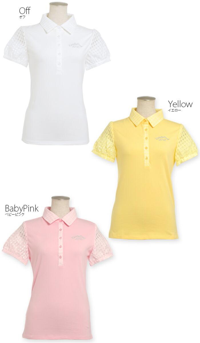 ゴルフウェア/レディース/ポロシャツ/レディースゴルフウェア