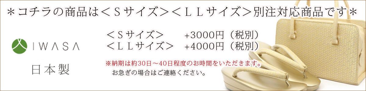 ≪名門:岩佐謹製≫礼装用草履バッグセット
