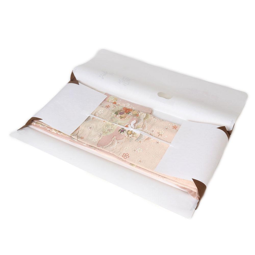 高級和紙を用いた着物文庫セット