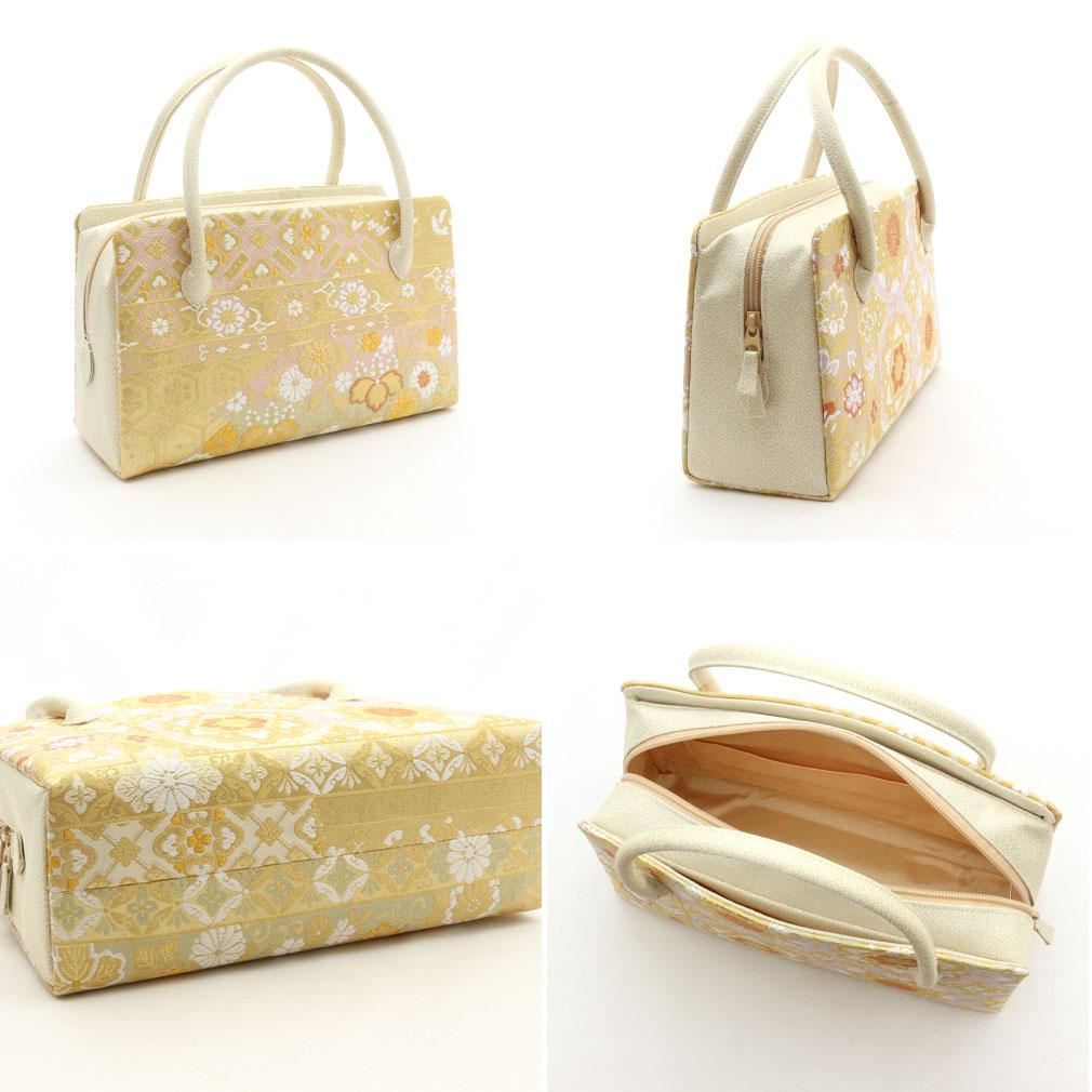 正絹を使用した高級利休バッグ