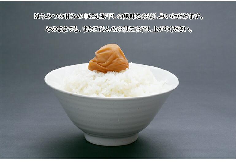 紀州南高梅使用つぶれはちみつ梅1.2kg3%