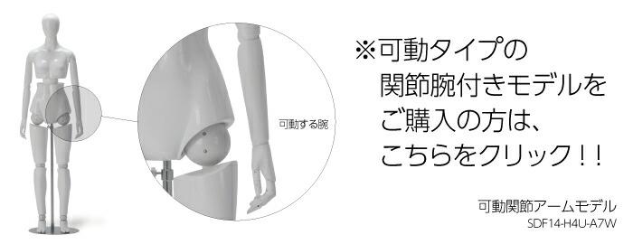 ※可動関節アームモデル