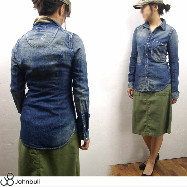 AS672 JOHNBULL  RUDE WORK SHIRT ルードワークシャツ
