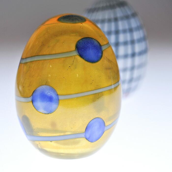 iittala/イッタラ Birds by Oiva Toikka バード バイ オイバ・トイッカ Annual Egg アニュアル エッグ 《ビンテージ/vintage/ヴィンテージ》  Blue Scaup Duck Egg