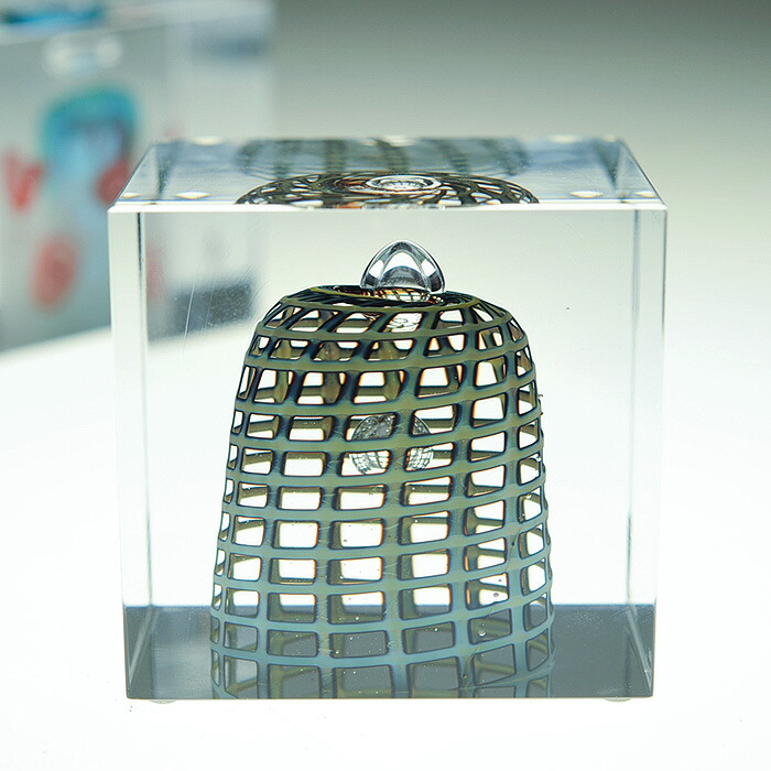 iittala/���å��� ��Nuutajarvi/�̡����������� Oiva Toikka �����С��ȥ��å� Annual Cube ���˥奢�� ���塼�� ��Ȣ����� �ԥӥ�ơ���/vintage/������ơ�����  2002ǯ