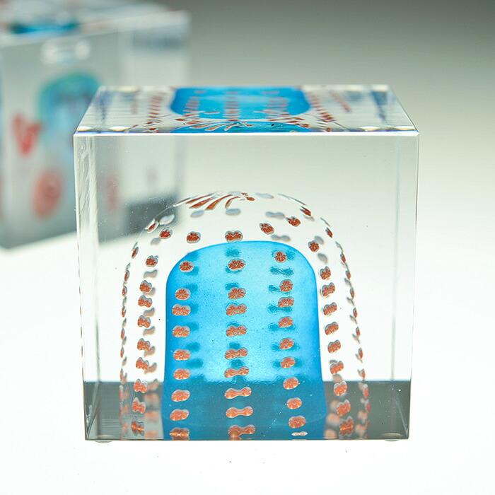 iittala/イッタラ (Nuutajarvi/ヌータヤルヴィ) Oiva Toikka オイバ・トイッカ Annual Cube アニュアル キューブ (箱入り) 《ビンテージ/vintage/ヴィンテージ》  2011年