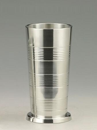 大阪錫器 タンブラー ビールコップ (小) 【桐箱入り】  150mL