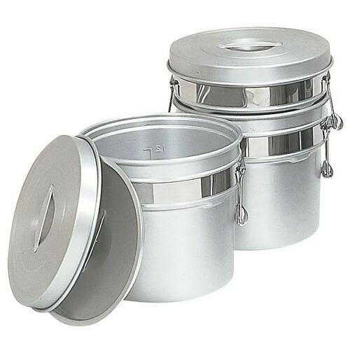 アルマイト段付二重食缶