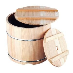 杉製 漬物樽 (ステンレスタガ) 9L  9L