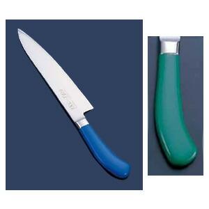 エコクリーン TKG-PRO(プロ) 業務用 抗菌カラー庖丁 牛刀(両刃) 27cm グリーン  グリーン
