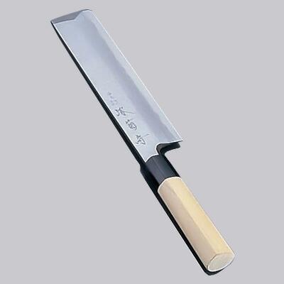 堺 菊守 極上 薄刃(片刃) 18cm  18cm