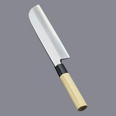 堺實光 匠練銀三(銀三鋼) 鎌薄刃(片刃) 19.5cm 37504 37504 19.5cm