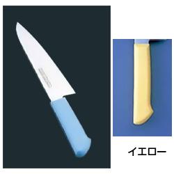 マスターコック 抗菌カラー庖丁 洋出刃(片刃) MCDK-270 イエロー MCDK-270 イエロー