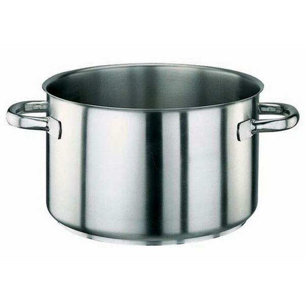 パデルノ 18-10 半寸胴鍋 (蓋無) 1007-20 1007-20 20cm