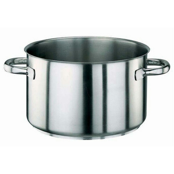 パデルノ 18-10 半寸胴鍋 (蓋無) 1007-40 1007-40 40cm