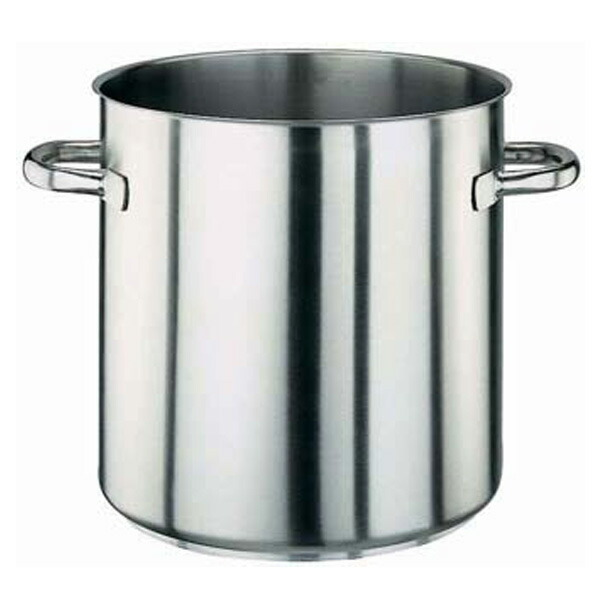 パデルノ 18-10 寸胴鍋 (蓋無) 1001-24 1001-24 24cm