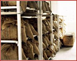 生豆熟成倉庫