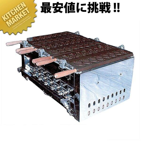 いかたこ焼台 EGIKA型 LP EGIKA-4-32ヶ型【業務用厨房機器のキッチンマーケット】