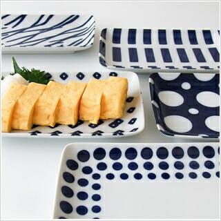 藍染焼き物