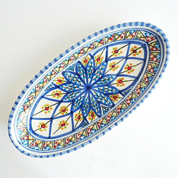 ナブール食器 オーバル チュニジア