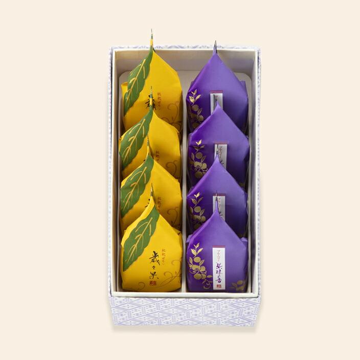 歳々果・紫珠の香詰合せ 8個入