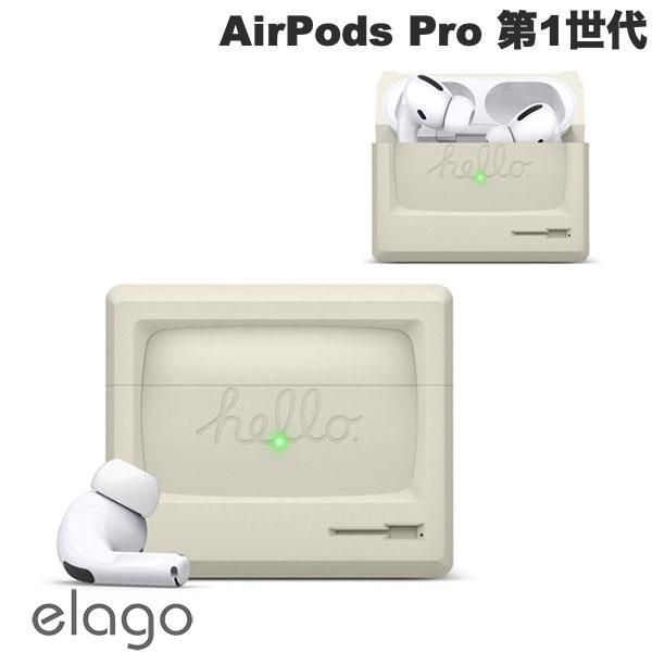 elago AirPods Pro AW3 CASE シリコンケース Classic White # EL_APPCSSCA3_CW  エラゴ