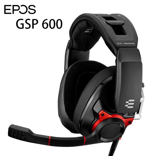 EPOS SENNHEISER GSP 600 密閉型ゲーミングヘッドセット # 1000244  イーポス