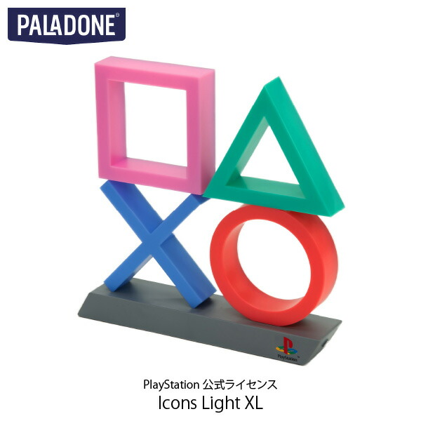 PALADONE PlayStation Icons Light XL PlayStation 公式ライセンス品 # PLDN-003  パラドン