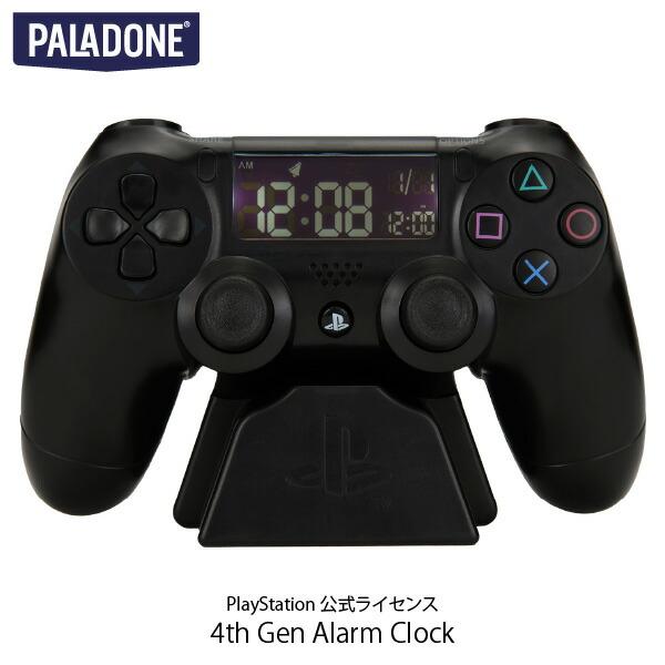 PALADONE PlayStation 4th Gen Alarm Clock DUALSHOCK 4 PlayStation 公式ライセンス品 # PLDN-006  パラドン