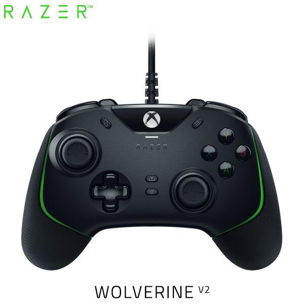 Razer Wolverine V2 Xbox Series X / S / One / PC (Windows 10) 対応 有線 ゲームパッド # RZ06-03560100-R3M1  レーザー
