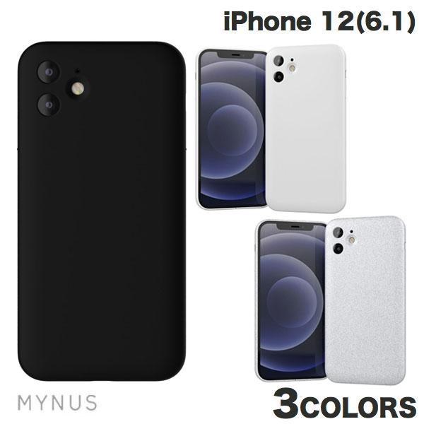MYNUS iPhone 12 CASE ミニマルデザイン  マイナス