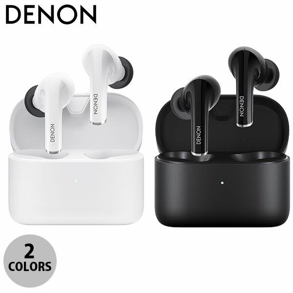 DENON AH-C830NCW 完全ワイヤレス インイヤーヘッドホン Bluetooth 5.0 ノイズキャンセリング デノン