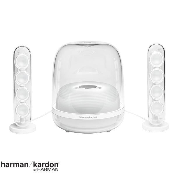 harman kardon SoundSticks 4 Bluetooth スピーカーシステム ホワイト # HKSOUNDSTICK4WHTJN  ハーマンカードン