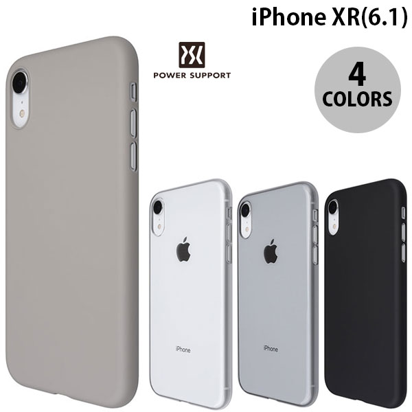 PowerSupport iPhone XR Air jacket パワーサポート