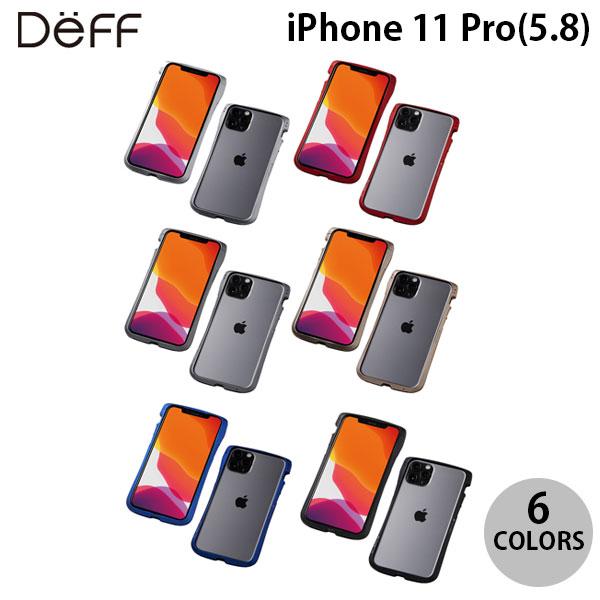 Deff iPhone 11 Pro / XS / X CLEAVE Aluminum Bumper  ディーフ