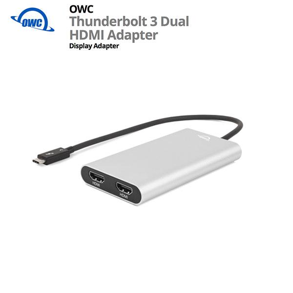 OWC Thunderbolt 3 Dual HDMI Adapter # OWCTB3ADP2HDMI  オーダブリュシー