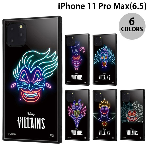 ingrem iPhone 11 Pro Max ディズニーヴィラン ネオンサイン 耐衝撃ハイブリッドケース KAKU  イングレム