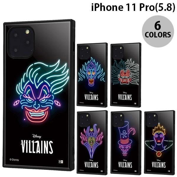 ingrem iPhone 11 Pro ディズニーヴィラン ネオンサイン 耐衝撃ハイブリッドケース KAKU  イングレム