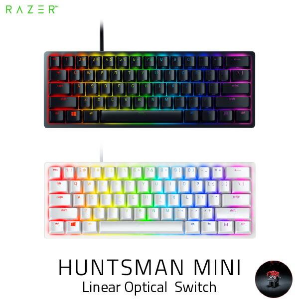 Razer Huntsman Mini 英語配列 静音リニアオプティカルスイッチ ゲーミング ミニキーボード レーザー