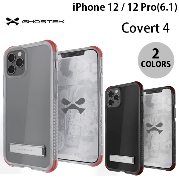 GHOSTEK iPhone 12 / 12 Pro Covert 4 シンプルなクリアタフケース ゴーステック