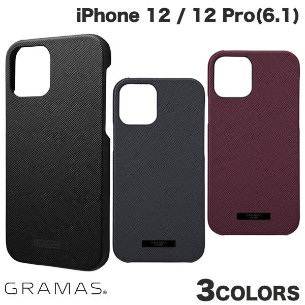 GRAMAS iPhone 12 / 12 Pro EURO Passione PU Leather Shell Case  グラマス