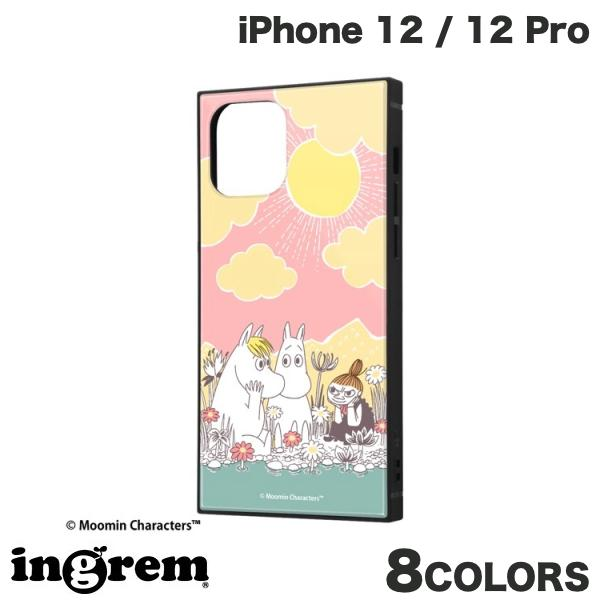 ingrem iPhone 12 / 12 Pro ムーミン 耐衝撃ハイブリッドケース KAKU  イングレム