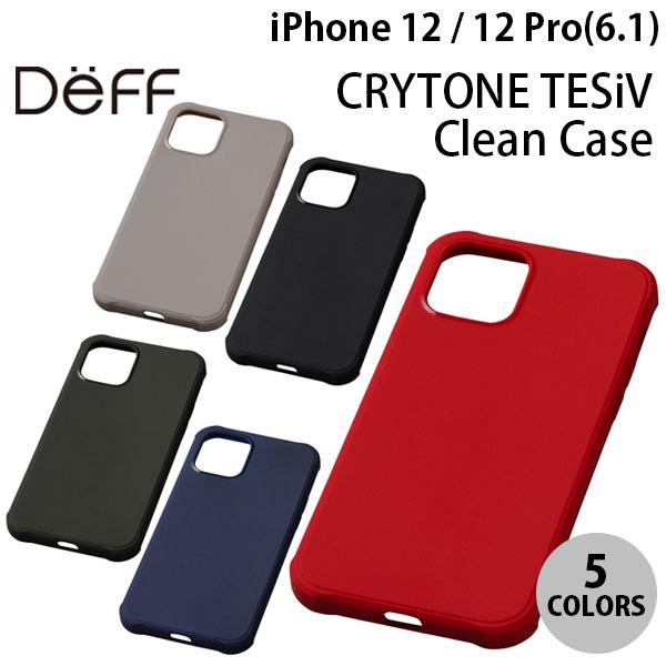 Deff iPhone 12 / 12 Pro CRYTONE TESiV Clean 抗菌 Case  ディーフ