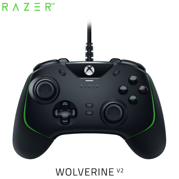 Razer Wolverine V2  Xbox Series X / S / One / PC (Windows 10) 対応 有線 ゲームパッド # RZ06-03560100-R3M1  レーザー